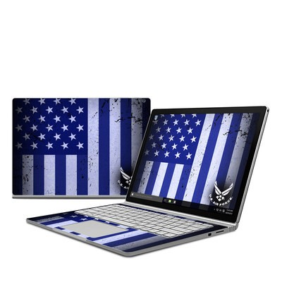 Microsoft Surface Book Skin - USAF Flag