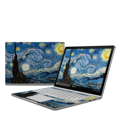 Microsoft Surface Book Skin - Starry Night