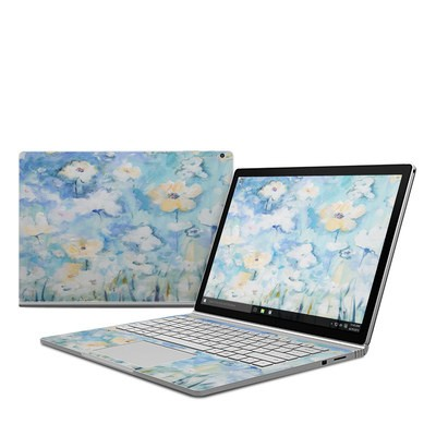 Microsoft Surface Book Skin - White & Blue