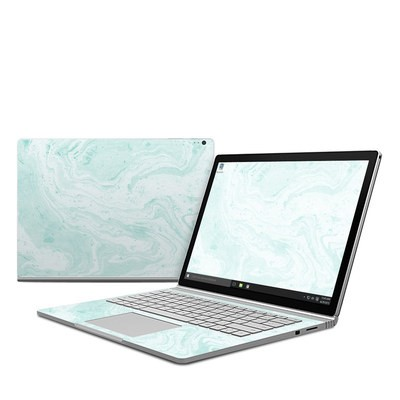 Microsoft Surface Book Skin - Winter Green Marble