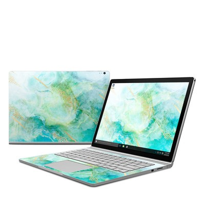 Microsoft Surface Book Skin - Winter Marble