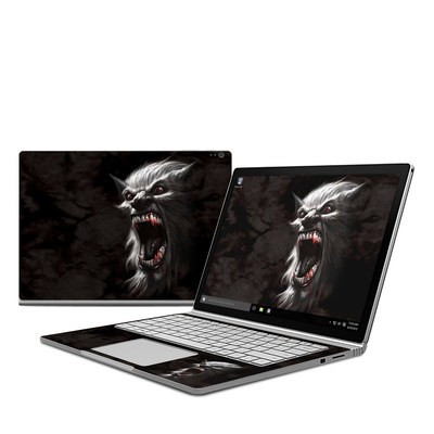 Microsoft Surface Book Skin - Wolfman
