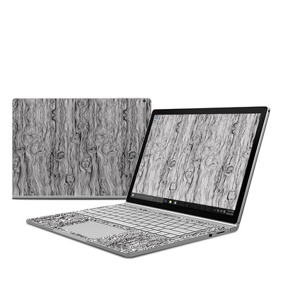 Microsoft Surface Book Skin - Woodgrain