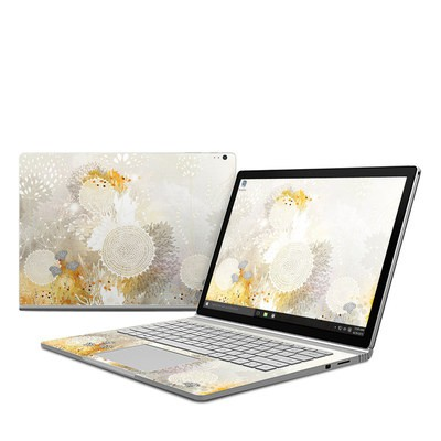 Microsoft Surface Book Skin - White Velvet