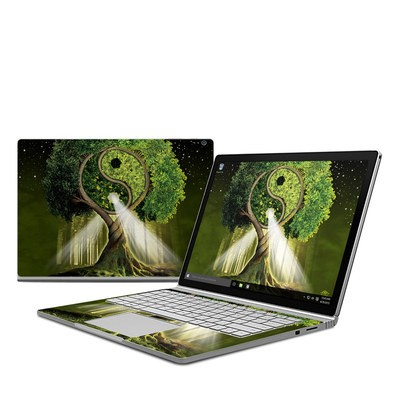 Microsoft Surface Book Skin - Yin Yang Tree