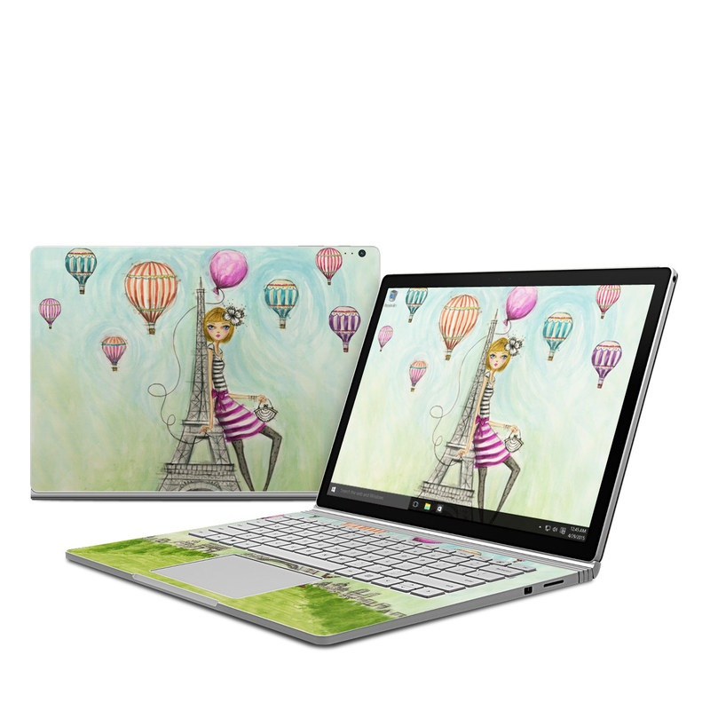 microsoft surface book skin the sights paris by bella. Black Bedroom Furniture Sets. Home Design Ideas