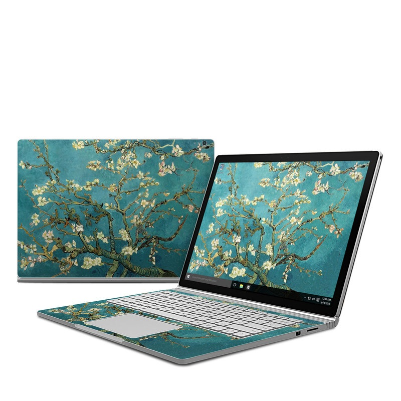 Microsoft Surface Book Skin Blossoming Almond Tree By