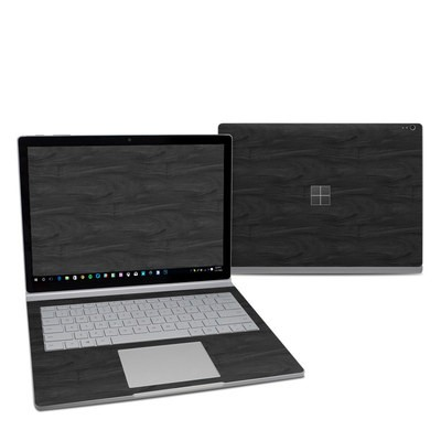 Microsoft Surface Book 2 13.5in (i5) Skin - Black Woodgrain