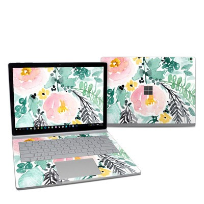 Microsoft Surface Book 2 13.5in (i5) Skin - Blushed Flowers