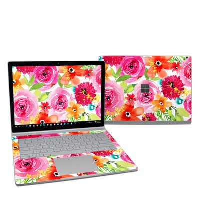 Microsoft Surface Book 2 13.5in (i5) Skin - Floral Pop