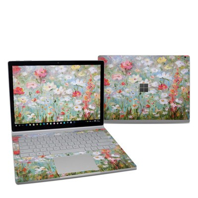 Microsoft Surface Book 2 13.5in (i5) Skin - Flower Blooms