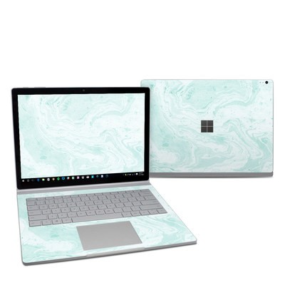 Microsoft Surface Book 2 13.5in (i5) Skin - Winter Green Marble