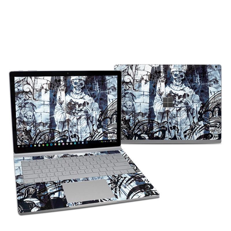 Microsoft Surface Book 2 13 5in (i5) Skin - Black Mass