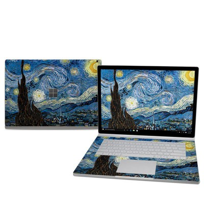 Microsoft Surface Book 2 15in (i7) Skin - Starry Night