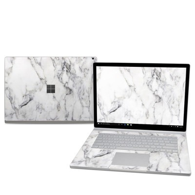 Microsoft Surface Book 2 15in (i7) Skin - White Marble
