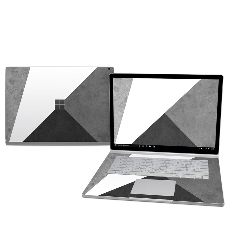 microsoft surface book 2 15in i7 skin slate by color block