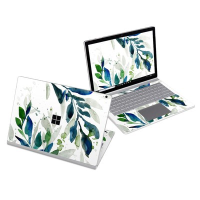 Microsoft Surface Book 3 13.5in (i5) Skin - Floating Leaves