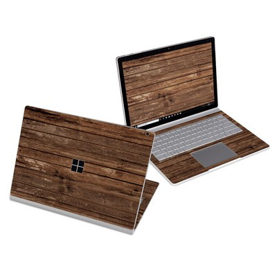 Microsoft Surface Book 3 13.5in (i5) Skin - Stripped Wood