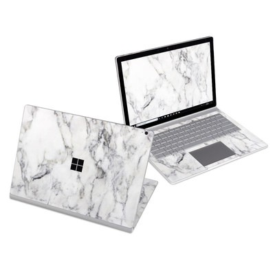 Microsoft Surface Book 3 13.5in (i5) Skin - White Marble