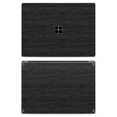 Microsoft Surface Laptop Skin - Black Woodgrain