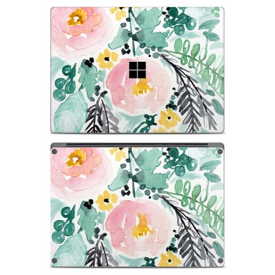 Microsoft Surface Laptop Skin - Blushed Flowers