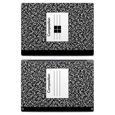 Microsoft Surface Laptop Skin - Composition Notebook