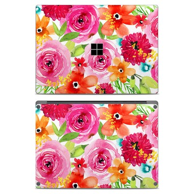 Microsoft Surface Laptop Skin - Floral Pop