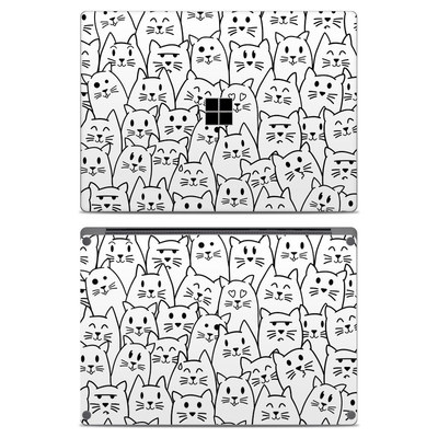 Microsoft Surface Laptop Skin - Moody Cats