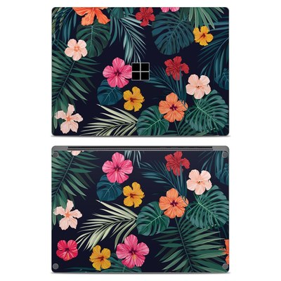 Microsoft Surface Laptop Skin - Tropical Hibiscus
