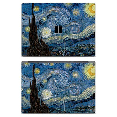 Microsoft Surface Laptop Skin - Starry Night
