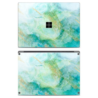 Microsoft Surface Laptop Skin - Winter Marble