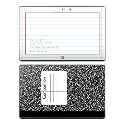 Microsoft Surface Pro Skin - Composition Notebook