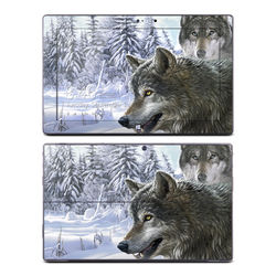 Microsoft Surface Pro Skin - Snow Wolves