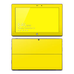 Microsoft Surface Pro Skin - Solid State Yellow