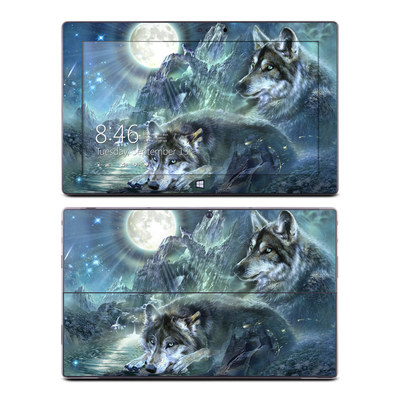 Microsoft Surface Pro Skin - Bark At The Moon