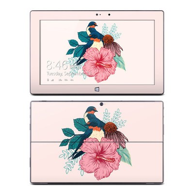 Microsoft Surface Pro Skin - Barn Swallows