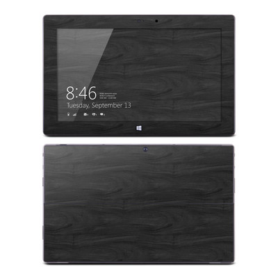 Microsoft Surface Pro Skin - Black Woodgrain