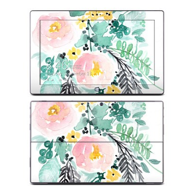 Microsoft Surface Pro Skin - Blushed Flowers