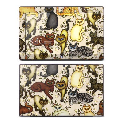 Microsoft Surface Pro Skin - Cats