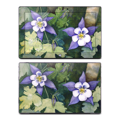 Microsoft Surface Pro Skin - Colorado Columbines