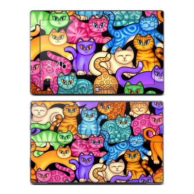 Microsoft Surface Pro Skin - Colorful Kittens