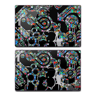 Microsoft Surface Pro Skin - Circle Madness