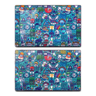 Microsoft Surface Pro Skin - Cosmic Ray