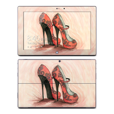Microsoft Surface Pro Skin - Coral Shoes