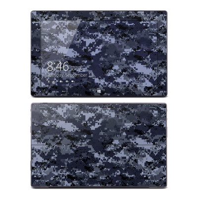 Microsoft Surface Pro Skin - Digital Navy Camo