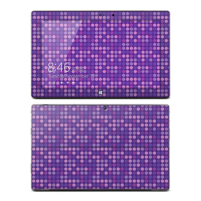 Microsoft Surface Pro Skin - Dots Purple