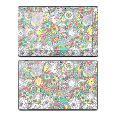 Microsoft Surface Pro Skin - Faded Floral
