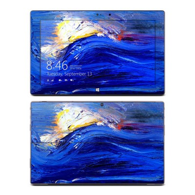 Microsoft Surface Pro Skin - Feeling Blue