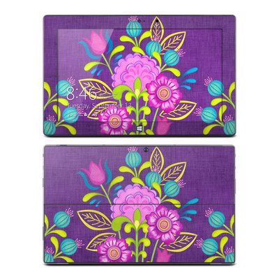 Microsoft Surface Pro Skin - Floral Bouquet