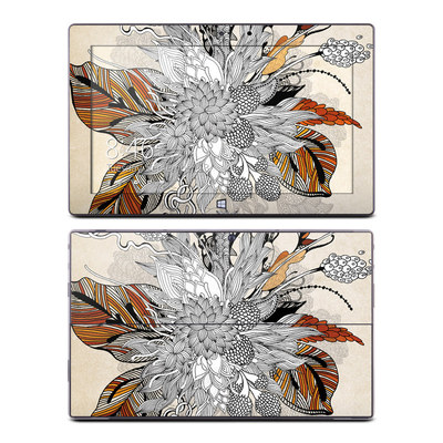 Microsoft Surface Pro Skin - Fall Floral